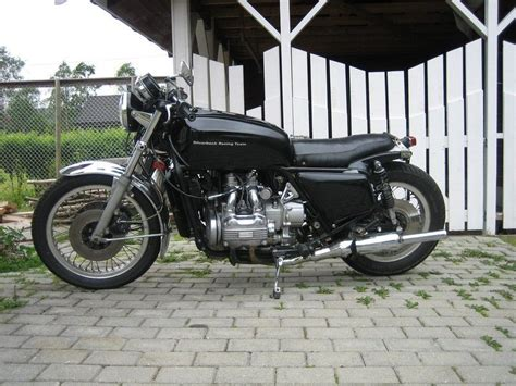 gl1000 cafe racer seat silver b s gl1000 gl1000 honda cafes and