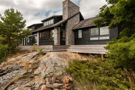 Georgian Bay Cottages by Georgian Bay Cottage Ireland Architect Inc