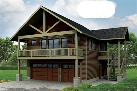 Garage Apartment Plans With Balcony by 6 New Garage Plans Now Available Associated Designs
