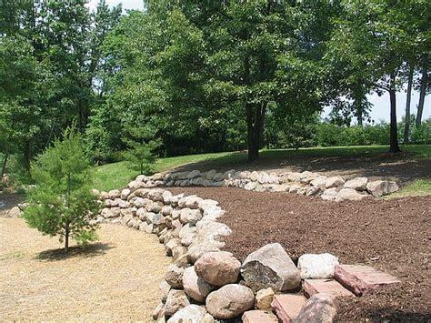 Landscape Fabric Retaining Wall Retaining Walls