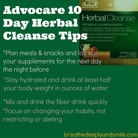 advocare challenge review breathe deeply and smile advocare herbal cleanse review