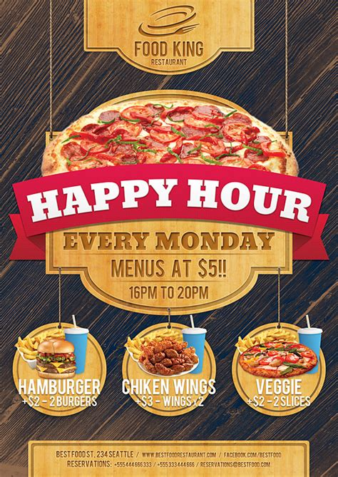 restaurant promotion restaurant food promotion flyer on behance