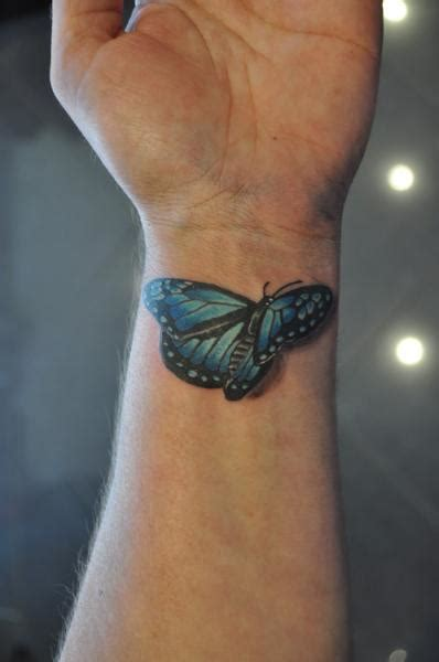 3d tattoos on wrist 85 3d butterfly tattoos