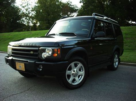 sell used 2004 land rover discovery se7 serviced htd