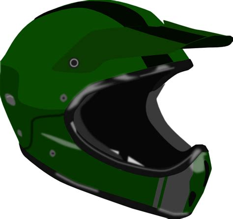 helmet clip bike or motorcycle helmet clip at clker vector