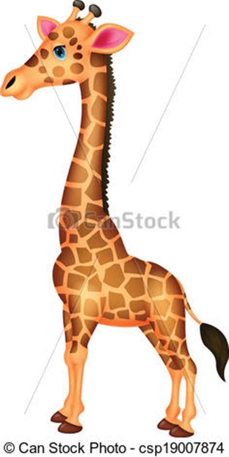 ilustraciones vectoriales de jirafa caricatura vector ilustraciones vectoriales de jirafa caricatura vector