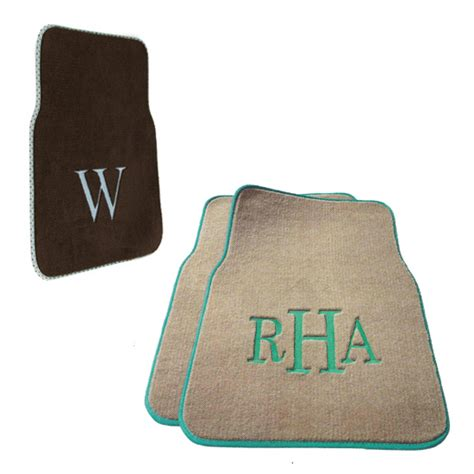 personalized car mats monogrammed car mats custom floor