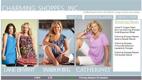 charming shoppes says ceo fogarty quits news retail