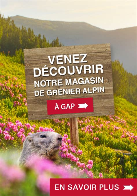 Le Grenier Alpin Gap by Nos Points Retraits Grenier Alpin