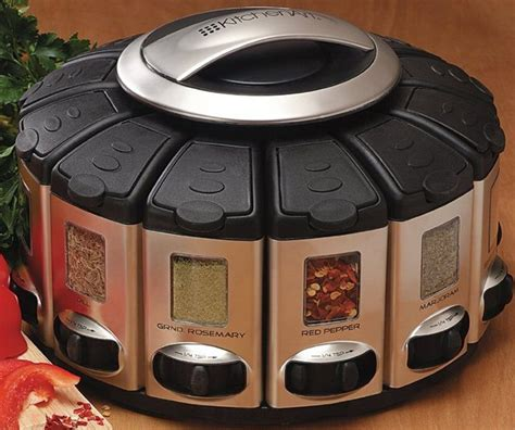 Spice Carousel Auto Measure Spice Carousel Takes The Guesswork Out Of Flavor