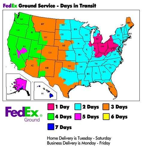 fedex time in transit map shipping policy and delivery terms