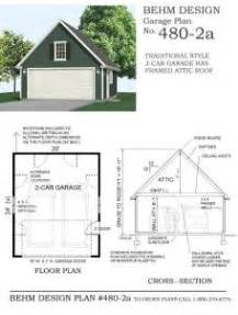 Garage Plans Online 2 car garage with shop in back 864 2 24 x 36 behm
