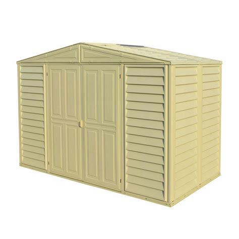 Plastic Shed Base Review by Duramax Building Products Woodbridge 10 5 Ft X 5 Ft