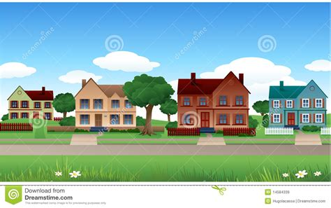 house photos free suburb house background stock vector illustration of