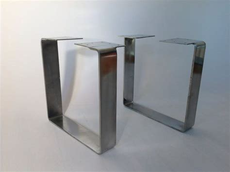 flat steel square table legs industrial tables