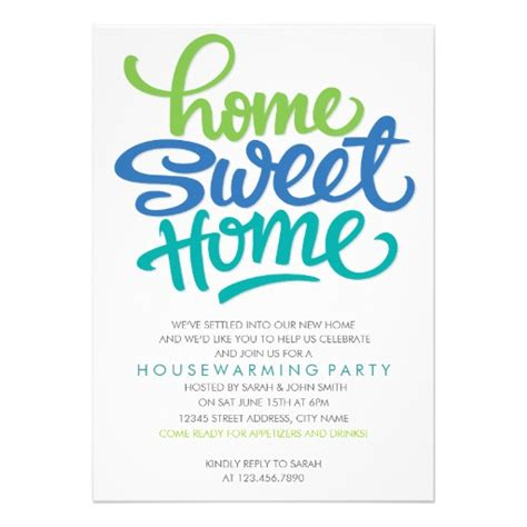 house warming party fun housewarming party invitation personalized invite