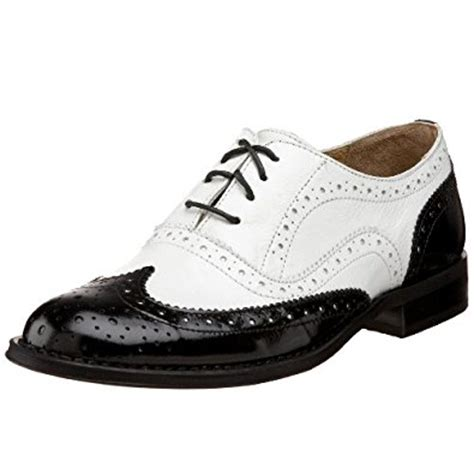 black white oxford shoes steven by steve madden s melin oxford