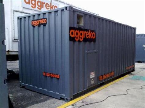 kw aggreko diesel generator