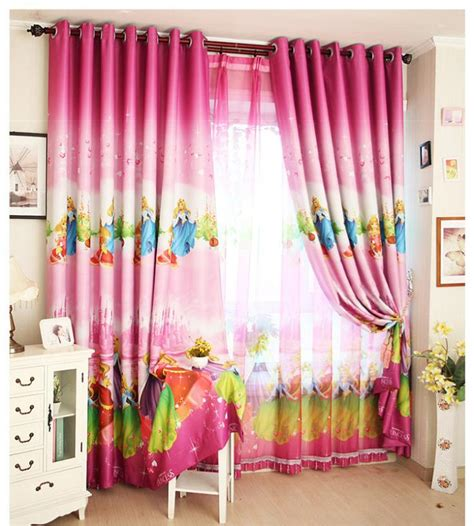 white curtains for girls room home window decoration cartoon children s curtains pink
