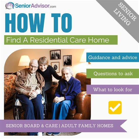 choosing a care home senioradvisor