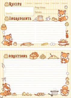 Primitive Recipe Card Template by Card Para Escrever Receitas A Noiva Ch 225 De Cozinha