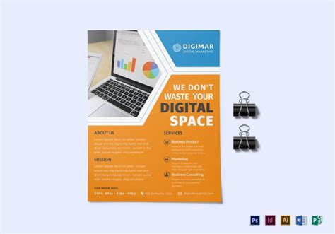 22 Marketing Flyer Templates Free Sle Exle Format Download Free Premium Templates Digital Marketer Ad Template
