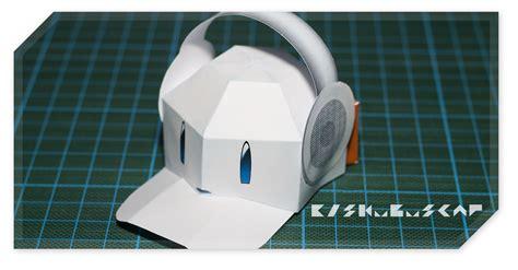 Cap With Paper - eiskubus cap papercraft papercraft paradise