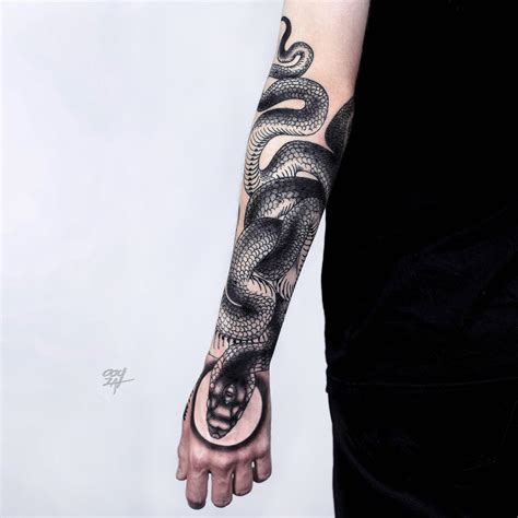 snake design tattoo 50 snake tattoos for 2018 tattoos