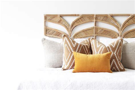 Tropi cool bedhead naturally cane rattan and wicker furniture