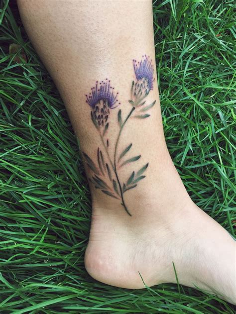 scottish thistle tattoo best 25 scottish thistle ideas on