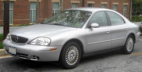 how make cars 2004 mercury sable parking system file 04 05 mercury sable gs sedan jpg wikimedia commons
