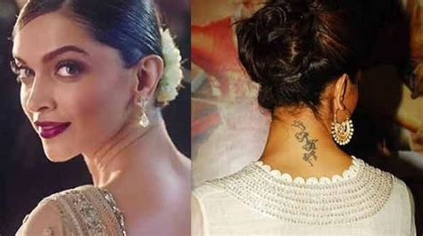 deepika padukone removes tattoo exclusive the about deepika padukone s rk