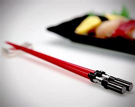 wars lightsaber chopsticks hiconsumption
