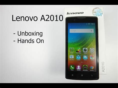 Lenovo Tipe A2010 lenovo a2010 price in the philippines and specs