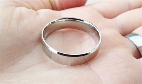 Large Wedding Rings for Men