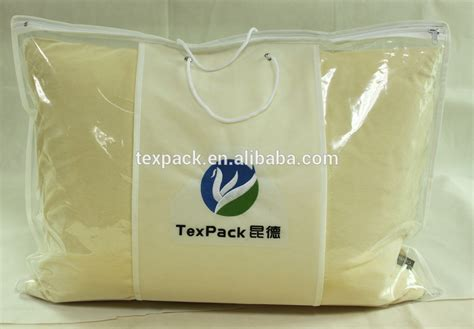 Pillow Bag Packaging by Phthalate Free Clear Plastic Pvc Pe Pillow Bag For Bedding