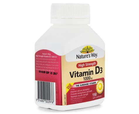 Natures Way High Strength Vitamin D3 1000iu 150 Caps nature s way high strength vitamin d3 1000iu 150 caps