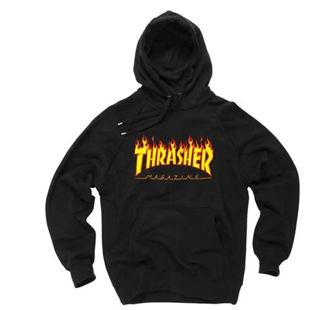 World Shower Curtain Thrasher Magazine Black Color Hoodies