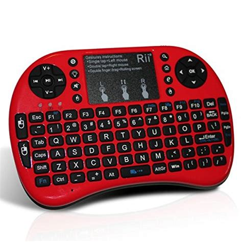 Mini Keyboard Wireless I8 With White Backlight rii i8 mini wireless 2 4g backlight touchpad keyboard with import it all