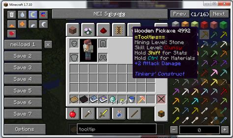 tool mod game java tic tooltips in game tinkers construct tool material