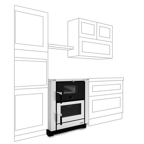Oven Vicenza la nordica vicenza wood burning cooker stoves are us
