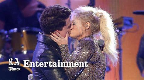 charlie puth zara larsson meghan trainor and charlie puth kiss passionately are