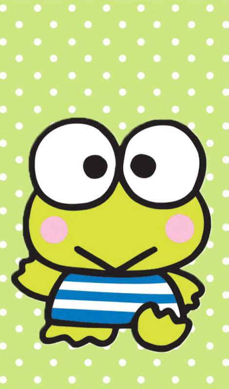 Keroppi Coloring Page   Hello Kitty and friends party