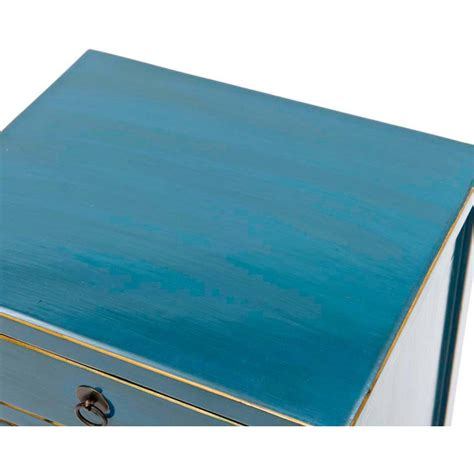 Blue Bedside L by Teal Bedside Cabinet Blue Lacquer L Table Orchid