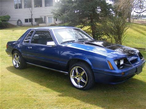 1984 Ford Mustang by Doubledime 1984 Ford Mustang Specs Photos Modification