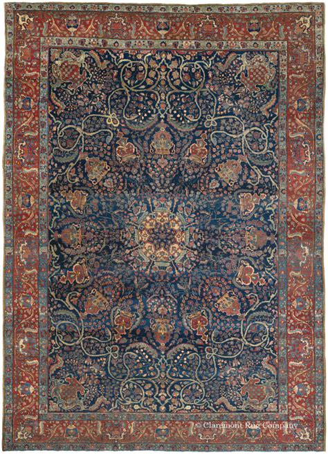 Guide To Persian Antique Tabriz Rugs Claremont Rug Company Carpets And Rugs