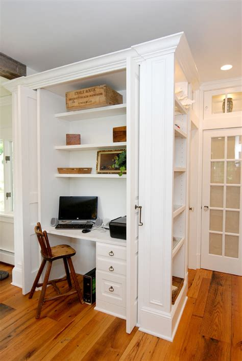 Office Closet Design by Closet Office Downsize Space