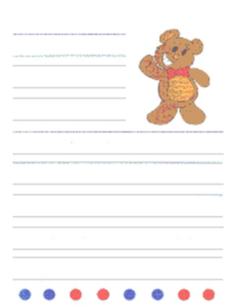 free printable writing paper dltk step 1 for custom writing paper