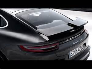 Porsche Panamera Spoiler Flabbergasted News Porsche Panamera Amazing Spoiler