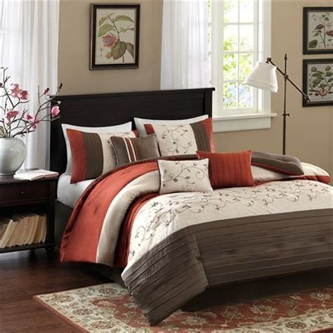 rust comforter set rust colored comforters and bedding sets